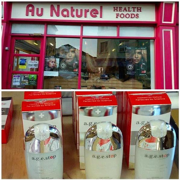 Health store Au Naturel / Payne's Lane, Irish town, Athlone